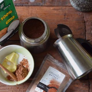 The Feel Good Morning Keto Coffee (AKA a Bulletproof Coffee with cacao)