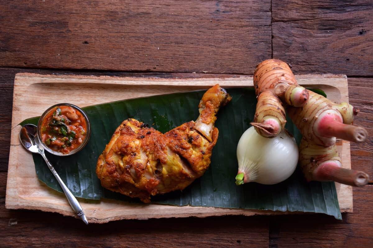 Grilled Chicken Recipe tamarind golden chicken Nutrition Adventures