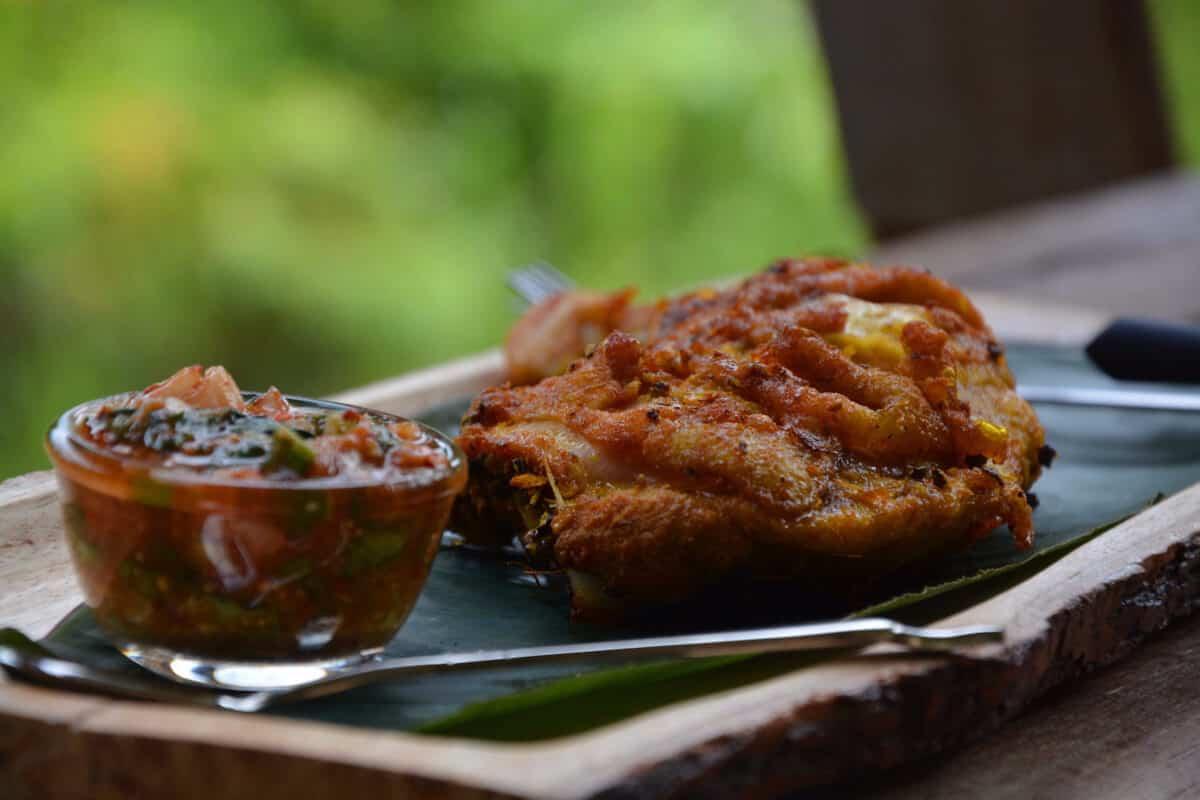 Nutrition Adventures Golden Chicken tamarind sauce