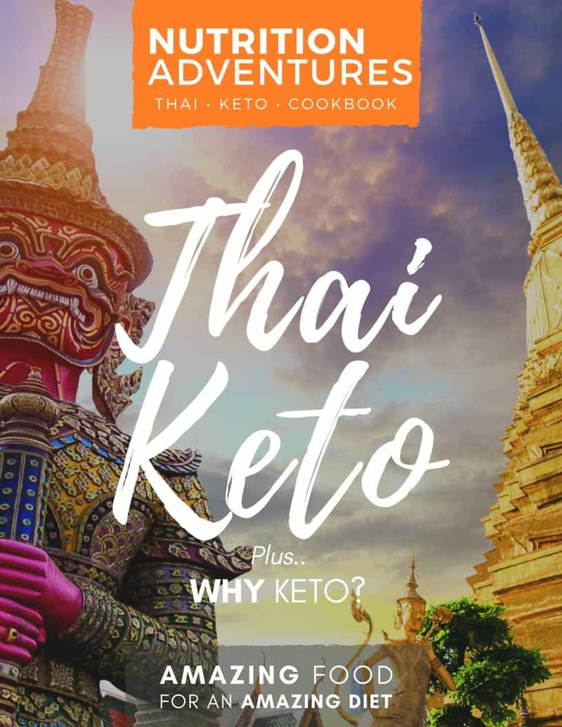 Thai Keto Shopping List Mini Cookbook Cover white copy