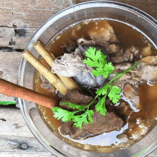 Authentic Bone Broth Recipe | Keto, Paleo, GF