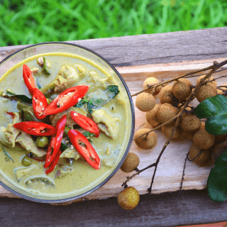 Thai Green Curry Chicken Coconut Soup Recipe – Gaeng Khi Wan Gai | Keto, Paleo, GF