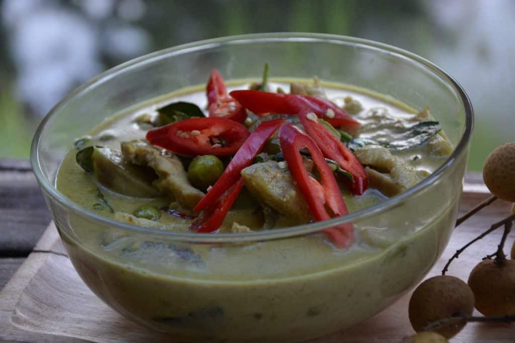Green Curry Chicken Keto Paleo Gluten Free