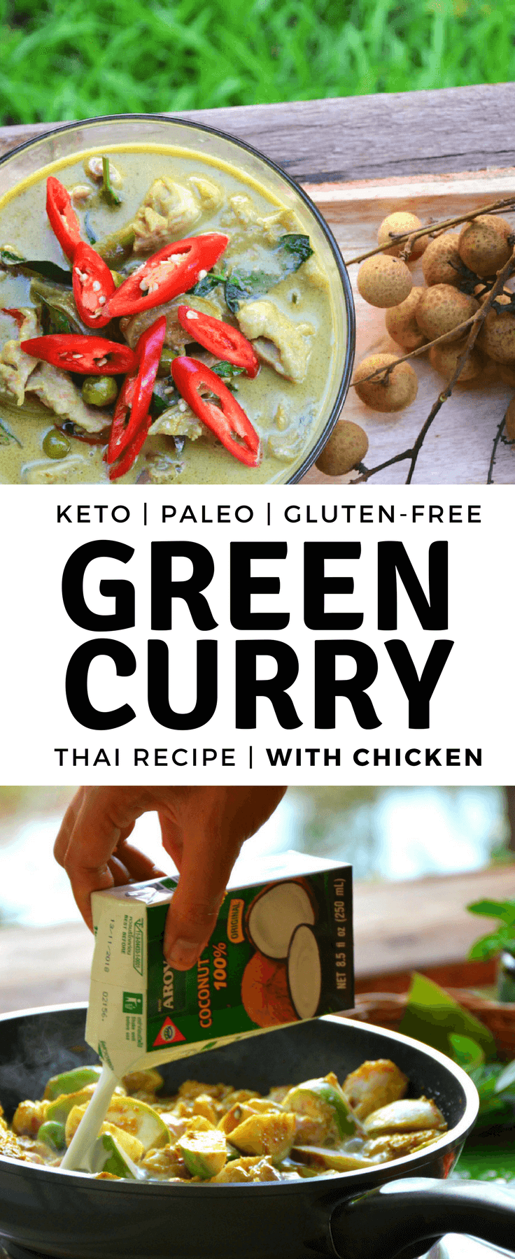 Green Curry Chicken Recipe on Pinterest