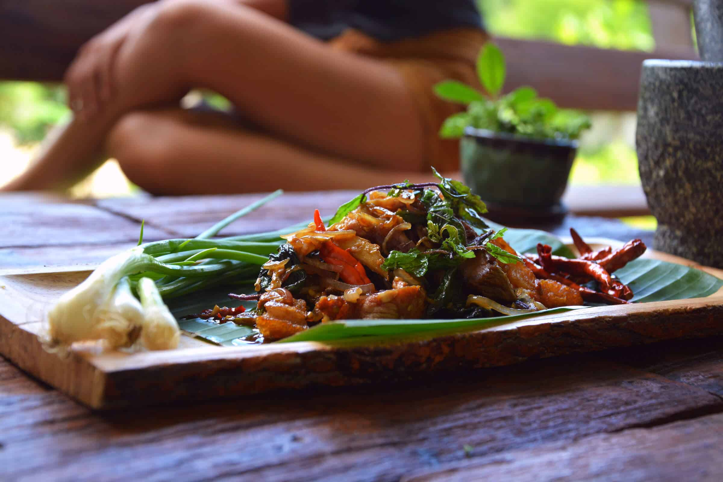 Thai Basil holy basil pork on Pinterest! Keto Paleo recipe gluten free low carb