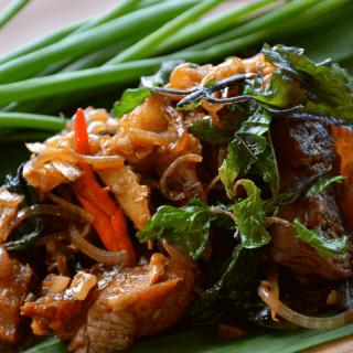 Pad Krapow Moo (Thai Basil Pork Stir Fry) Thai Recipe | Keto, Paleo, GF