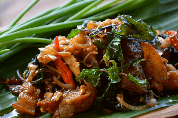 Pad Krapow Moo (Holy Basil Pork) Thai Recipe | Keto, Paleo, GF