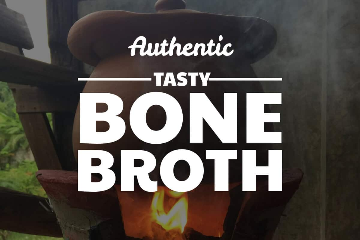 bone broth recipe with pork and chicken bones