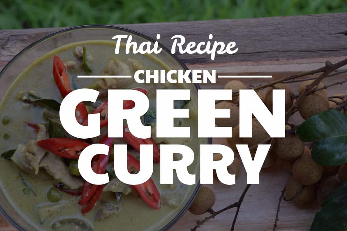 chicken green curry recipe blog