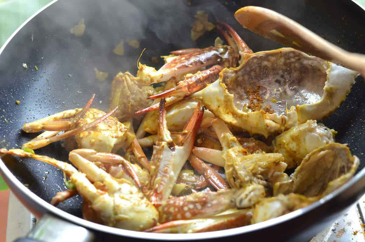 Crab Curry Stir Fry Thai Recipe Nutrition Adventures