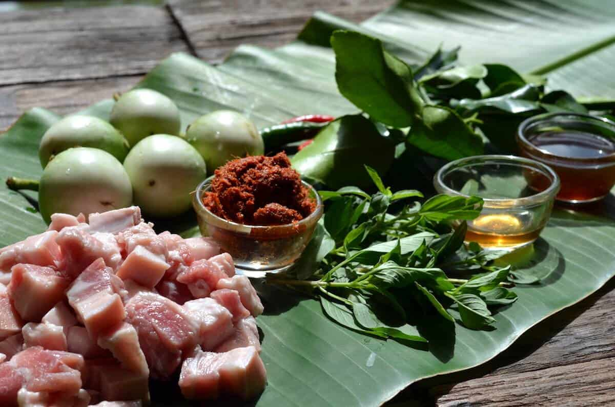 Panang Curry Recipe Ingredients