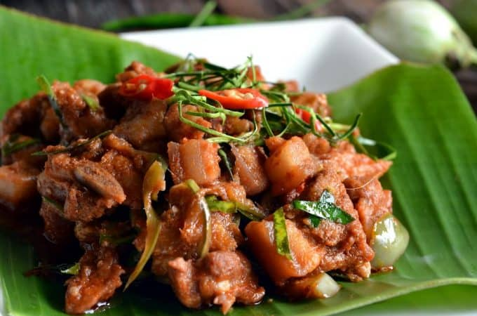 Pork Panang Curry Recipe