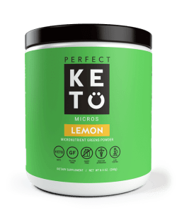 Green juice powder from Perfect Keto
