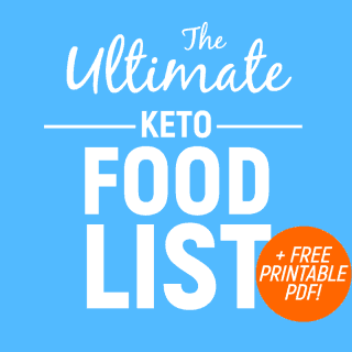 Ketogenic Diet Food List