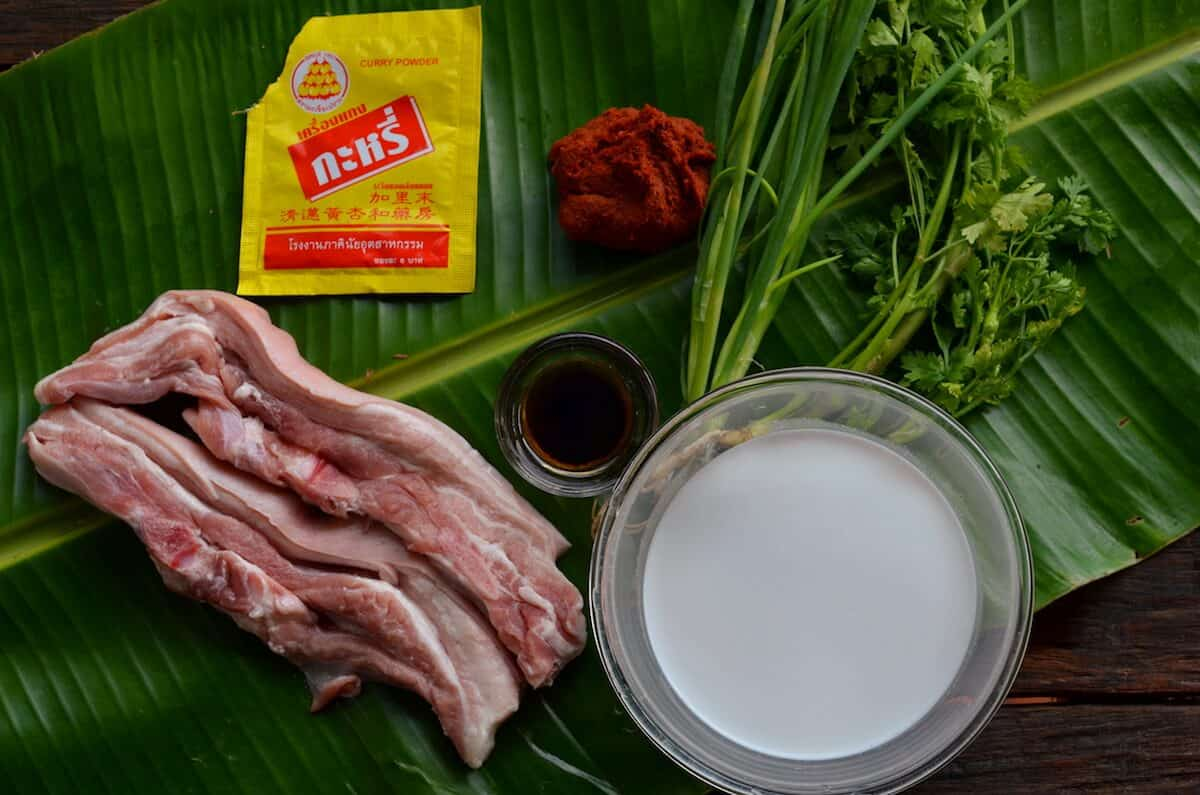 khao suey ingredients
