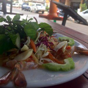 Thai Shrimp Salad Recipe in Laos