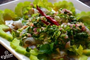 Thai Shrimp Salad Recipe, Kung Chae Nampla, กุ้งแช่น้ำปลา (Shrimp in Fish Sauce)