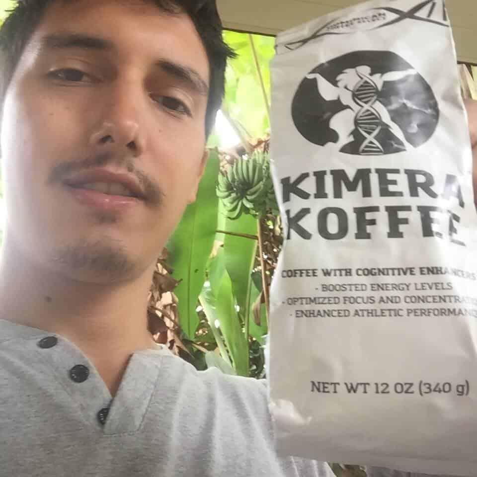 Kimera Koffee Nootropic Selfie