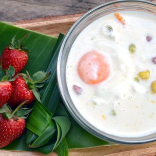 Bua Loy Khi Wan, Thai Dessert Recipe | Coconut Milk Pudding (With Pictures)