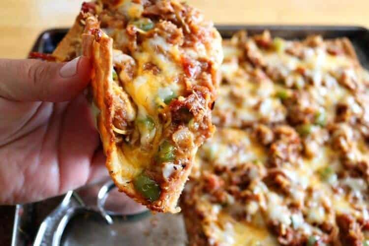 Keto Fathead Pizza